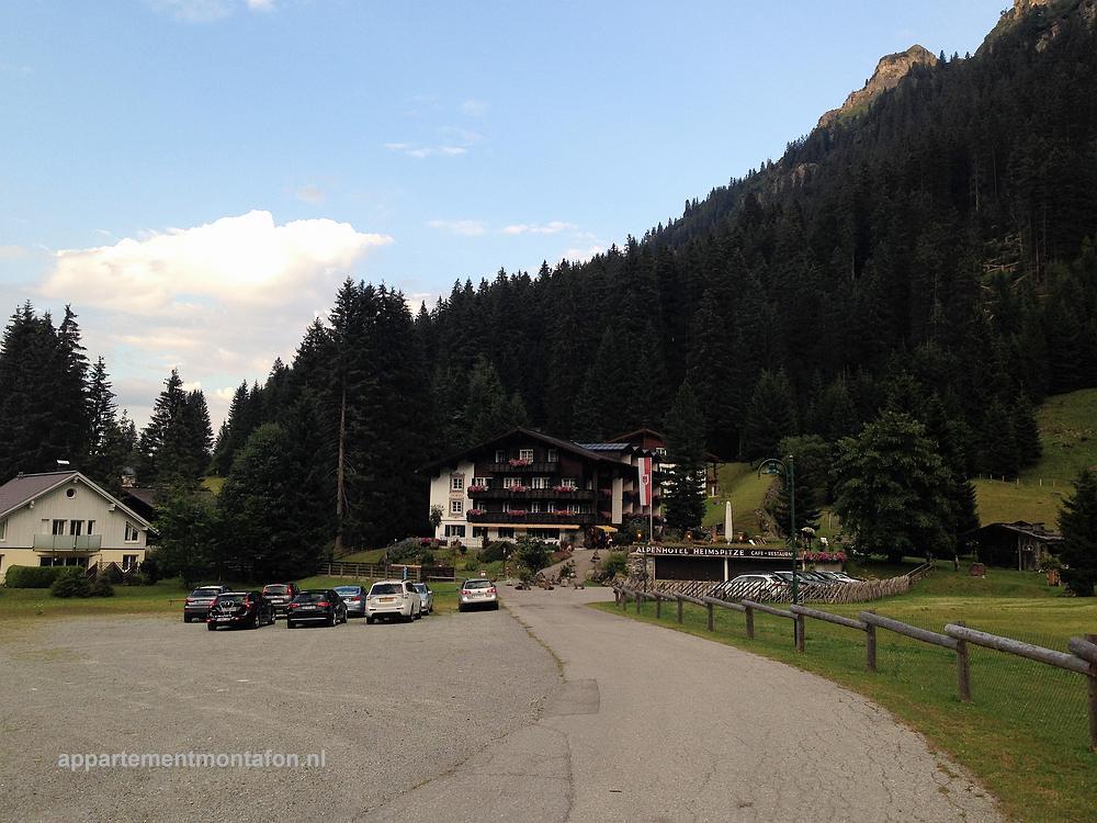 Alpenhotel Heimspitze Gargellen in Montafon