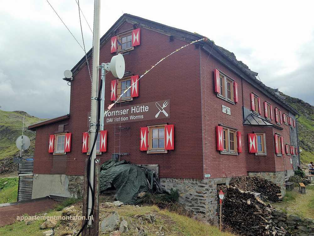 Wormser Hütte Schruns Montafon